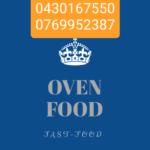 Carte de visite Oven Food